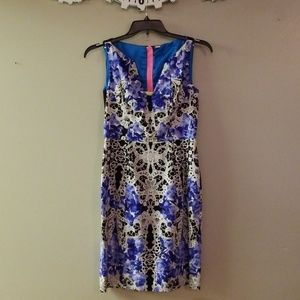 Elie Tahari lace pattern dress
